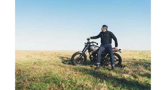 The 'Bike Shed™' Scene and Retro Biker Gear - (Resurgence & Stylmartin)