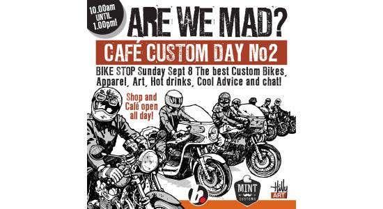 Custom Cafe Day - Sunday April 19th 2020