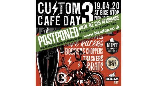 """Virtual"" Custom Cafe Day - Sunday April 19th 2020"