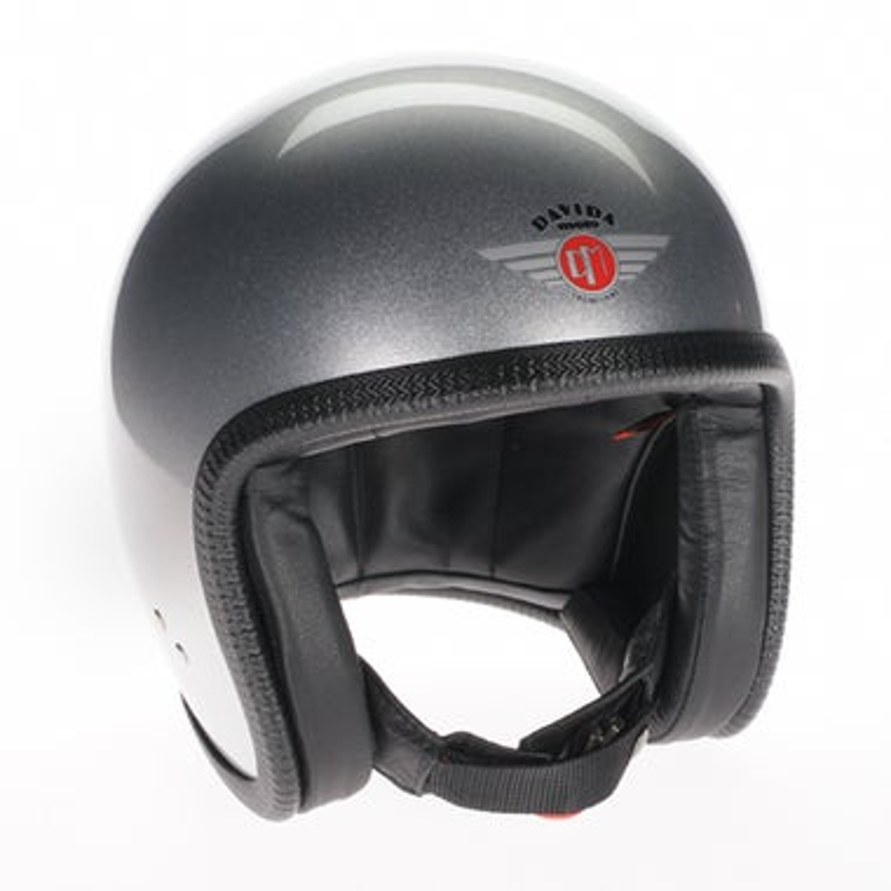 Davida Speedster V3 Helmet - Silver