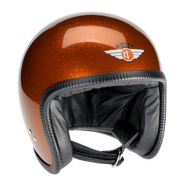 Davida Speedster V3 Helmet - Cosmic Flake Orange
