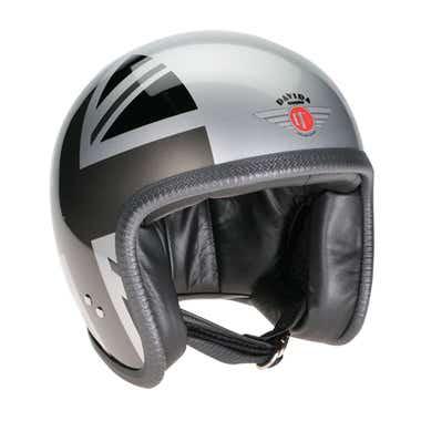 Davida Speedster V3 Helmet - Mono Union Jack Sides