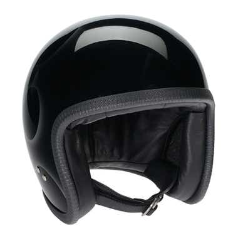 Davida Speedster V3 Helmet - Black / Silver Flames