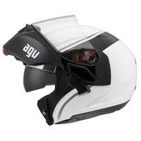 AGV Compact Course Helmet - White / Gun Left