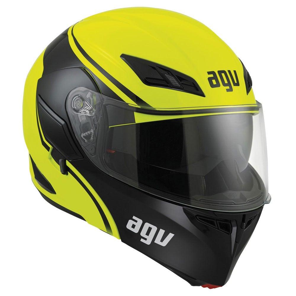 AGV Compact Course Helmet - Yellow / Black