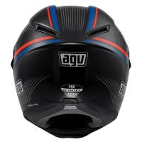 AGV GT Veloce Aspide Helmet - Black / Red / Blue