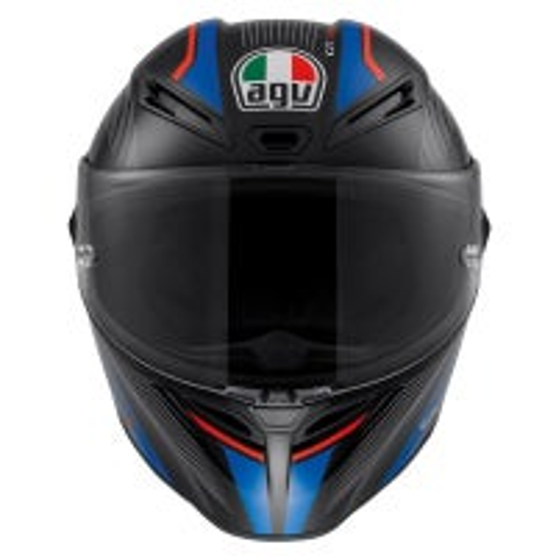 AGV GT Veloce Aspide Helmet - Black / Red / Blue