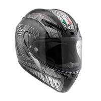 AGV GT Veloce Cyborg Helmet - Black / Grey