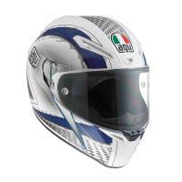 AGV GT Veloce Cyborg Helmet - White / Black / Blue