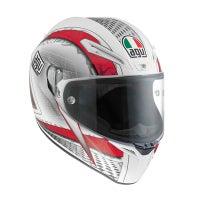 AGV GT Veloce Cyborg Helmet - White / Black / Red