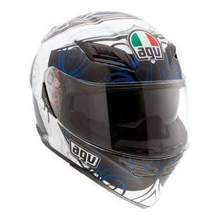 AGV Horizon Absolute Helmet - White / Blue