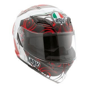 AGV Horizon Absolute Helmet - White / Red
