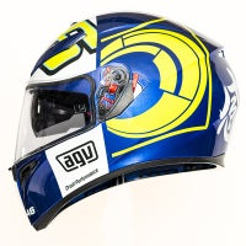AGV K3 SV Rossi Winter Test Helmet - Blue