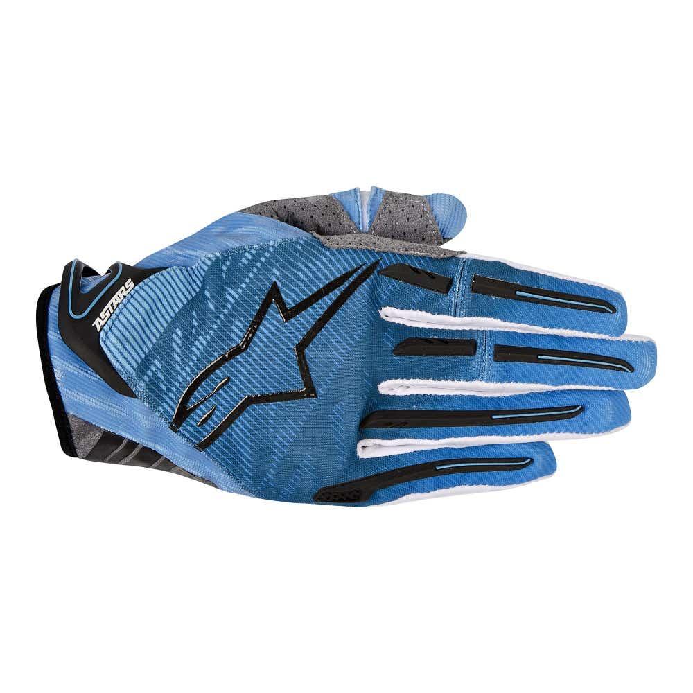 Alpinestars Charger Motocross Gloves - Blue