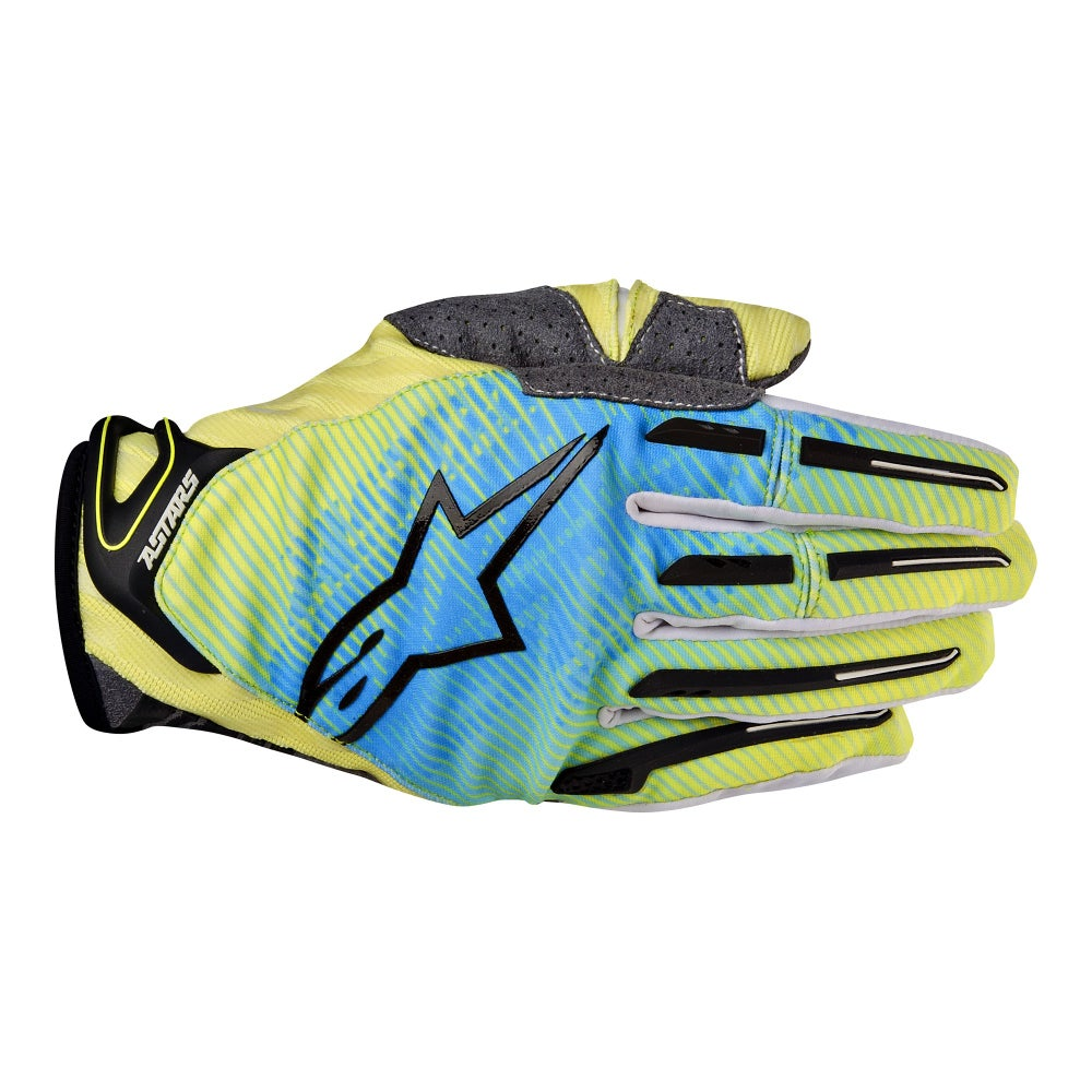 Alpinestars Charger Motocross Gloves - Lime Green