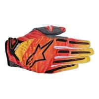 Alpinestars Charger Motocross Gloves - Orange / Red / Yellow