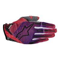 Alpinestars Charger Motocross Gloves - Red / Purple