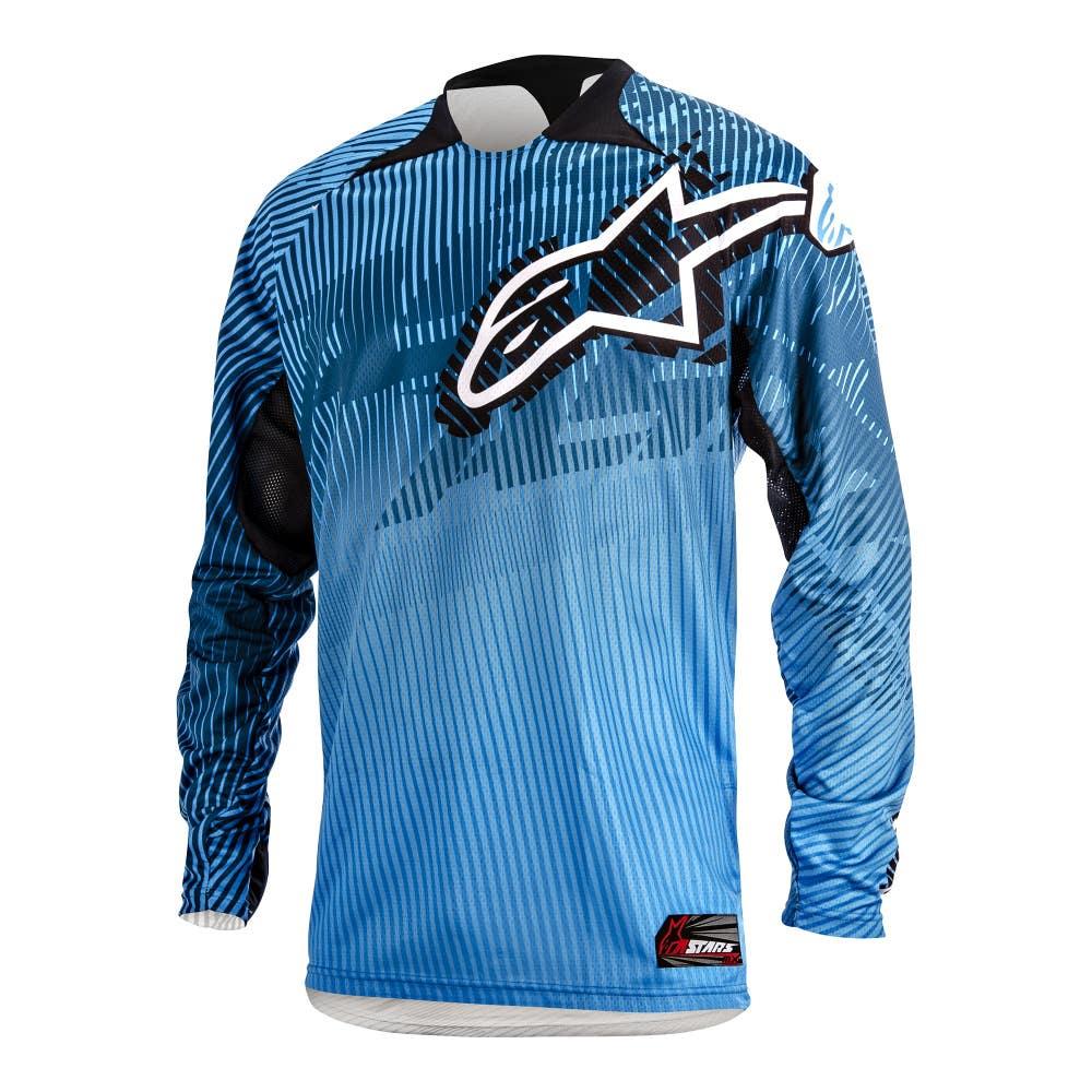 Alpinestars Charger Motocross Jersey - Blue
