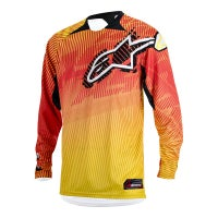 Alpinestars Charger Motocross Jersey - Orange / Red / Yellow