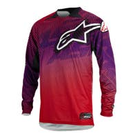 Alpinestars Charger Motocross Jersey - Red / Purple