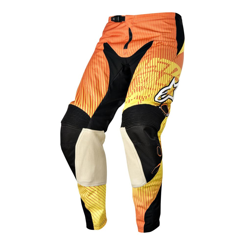 Alpinestars Charger Motocross Pants - Orange / Red / Yellow