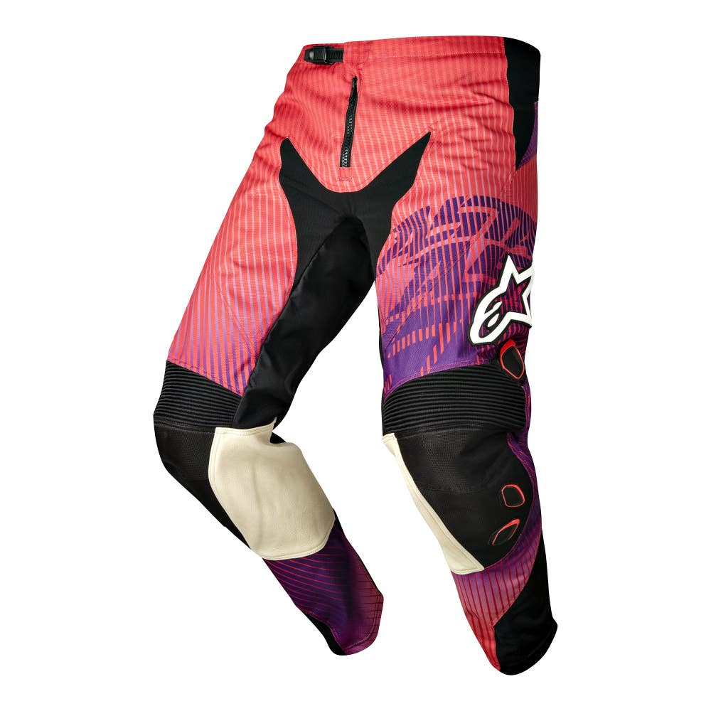 Alpinestars Charger Motocross Pants - Red / Purple