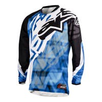 Alpinestars Racer Motocross Jersey - Black / Blue