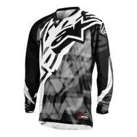 Alpinestars Racer Motocross Jersey - Grey / Black