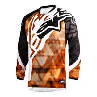 Alpinestars Racer Motocross Jersey - Orange / Black