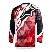 Alpinestars Racer Motocross Jersey - Red / Black