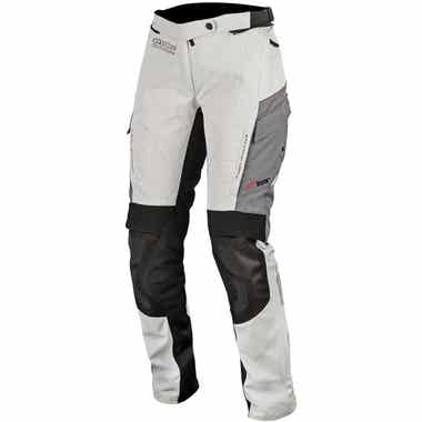 ALPINESTARS STELLA ANDES V2 DRYSTAR TROUSERS: LIGHT GREY/BLACK/DARK GREY: XL