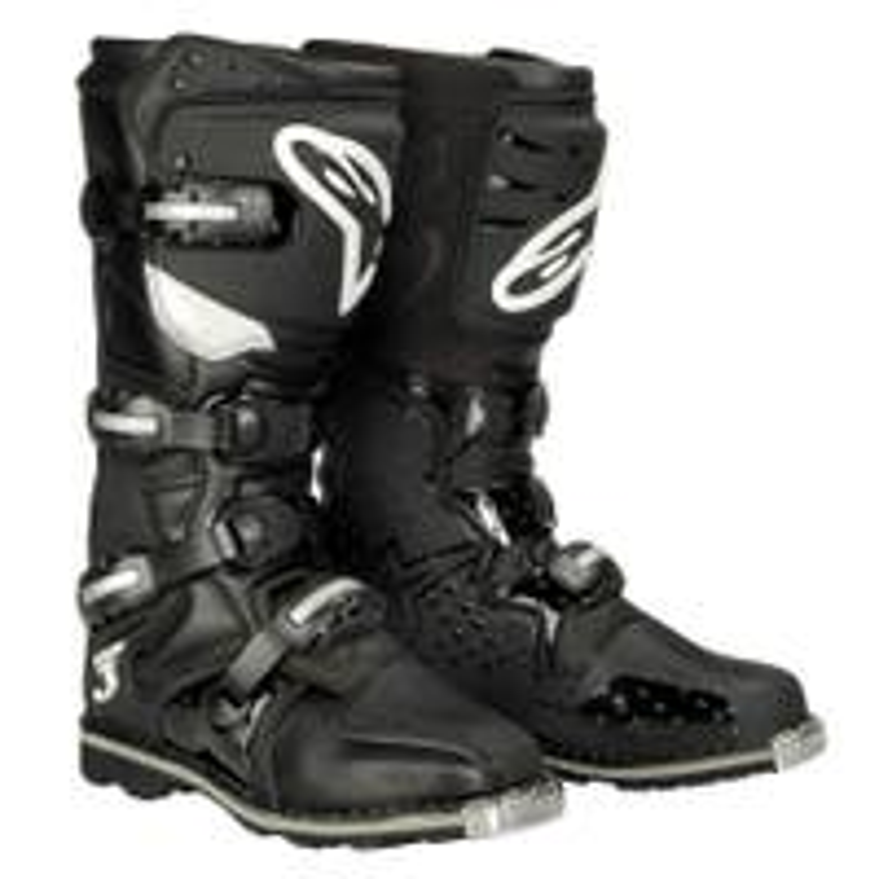 Alpinestars Tech 3 All Terrain Motocross Boots - Black