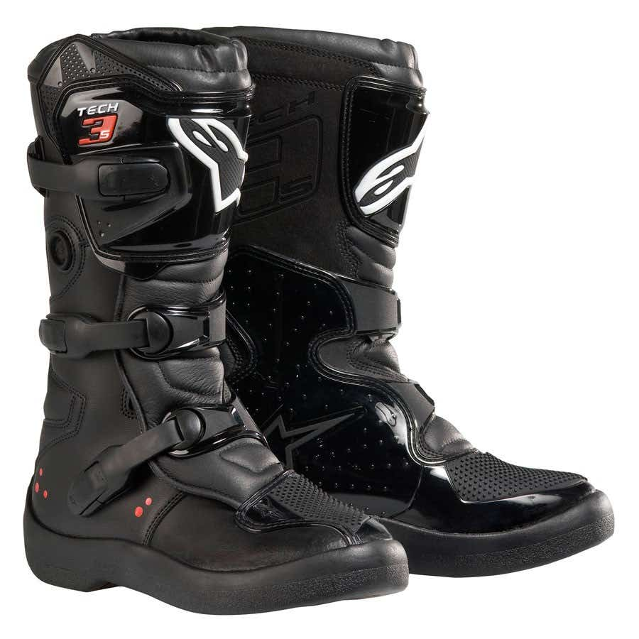 Alpinestars Tech 3 Youth Motocross Boots - Black