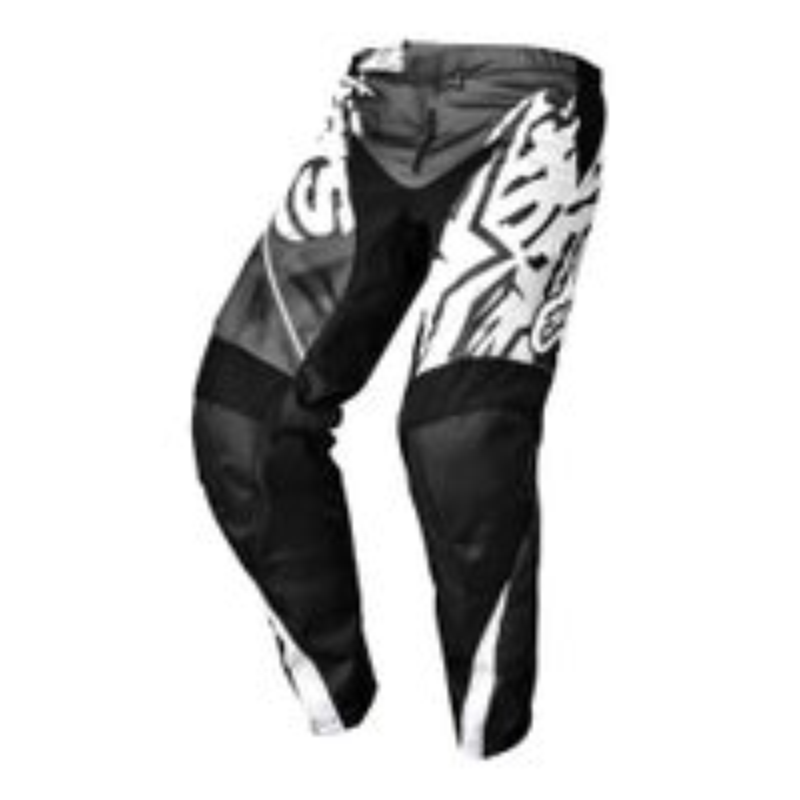 Alpinestars Youth Racer Motocross Pants - Grey / Black