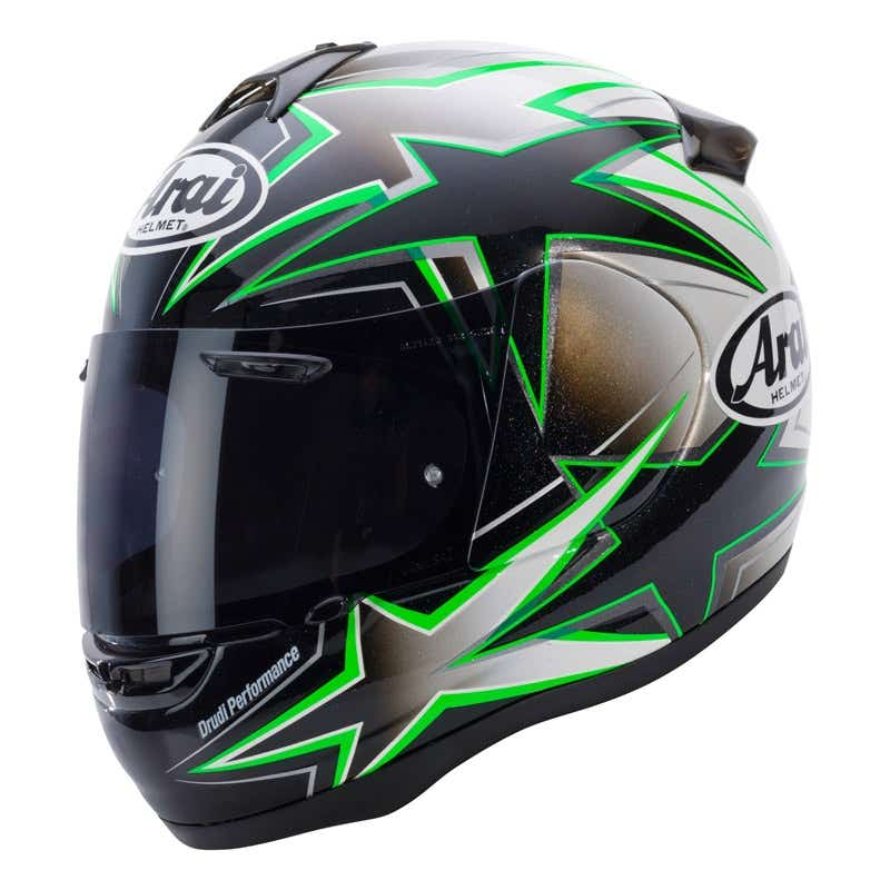 Arai Axces 2 Asteroid Helmet - Green