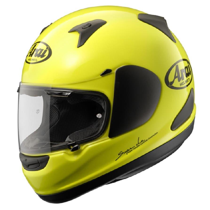 Arai Quantum-ST Helmet - Fluoro Yellow