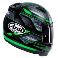 Arai Quantum-ST Rebel Chronus Helmet - Acid Green