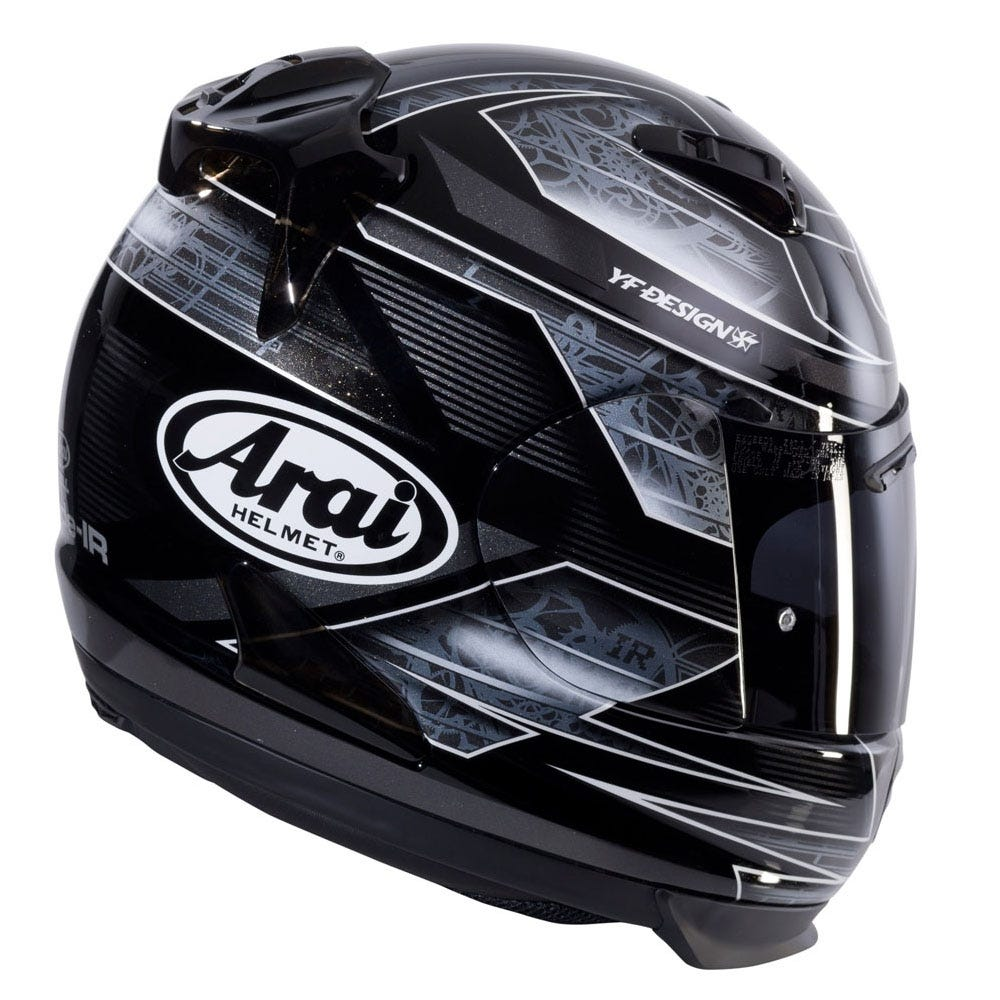 Arai Quantum-ST Rebel Chronus Helmet - Black