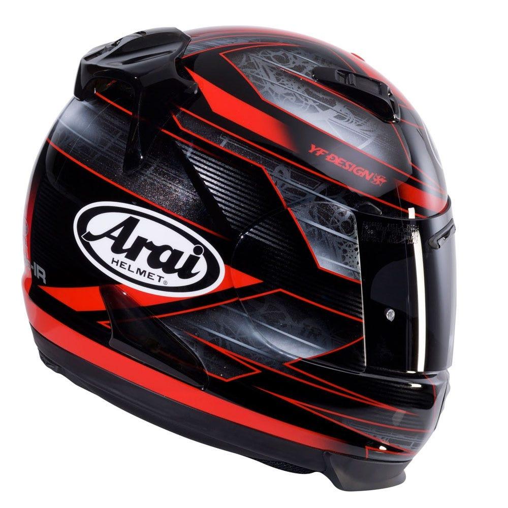 Arai Quantum-ST Rebel Chronus Helmet - Red