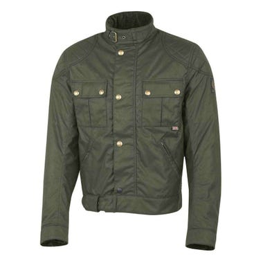 Belstaff Brooklands Blouson Waxed Cotton Jacket - British Racing Green