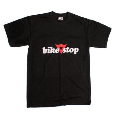 Bike Stop Logo T-Shirt - Black