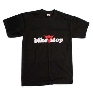 Bike Stop Logo T-Shirt - Black