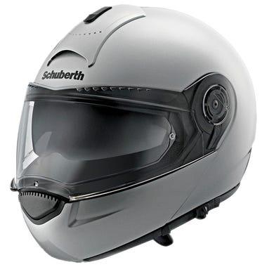 Schuberth C3 Basic Helmet - Gloss Silver