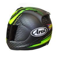 Arai RX-7 GP Helmet - Cal Crutchlow - Back Left