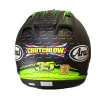 Arai RX-7 GP Helmet - Cal Crutchlow - Back