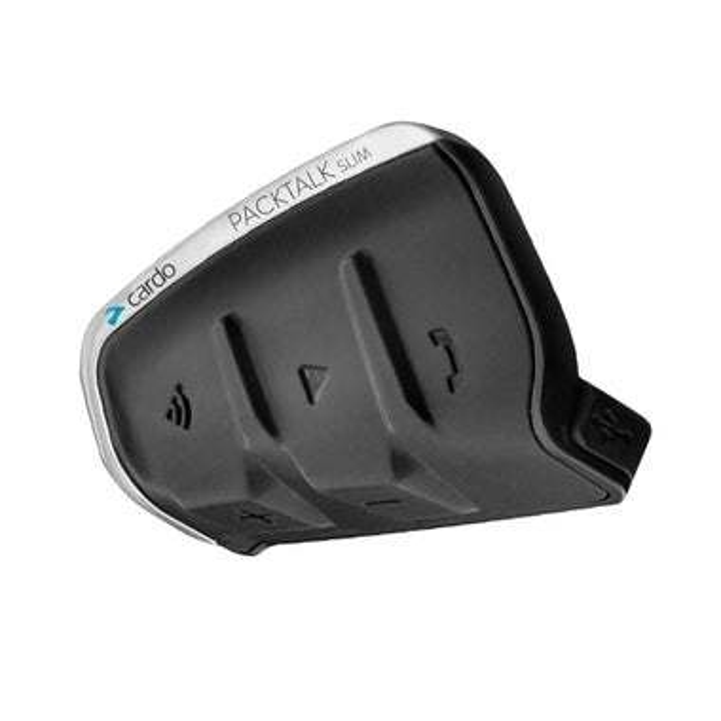 Cardo Packtalk Slim Single Motorcycle Bluetooth Communication