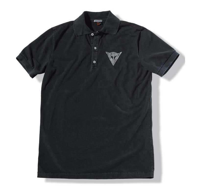 Dainese After Polo Shirt - Black