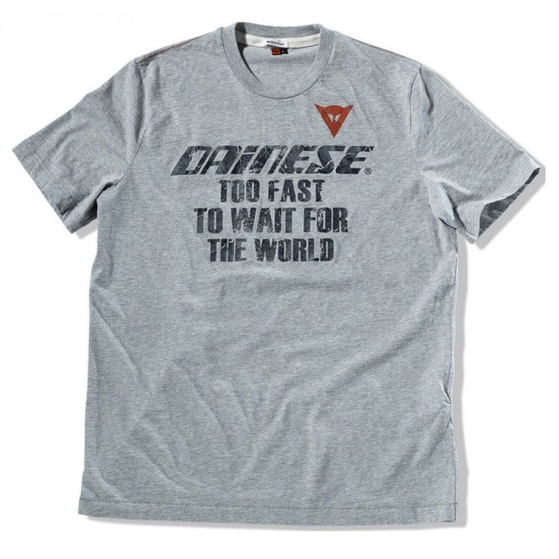 Dainese After Race T-Shirt - Gun