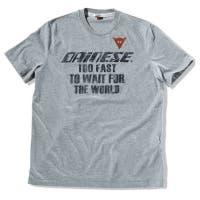 Dainese After Race T-Shirt - Gun