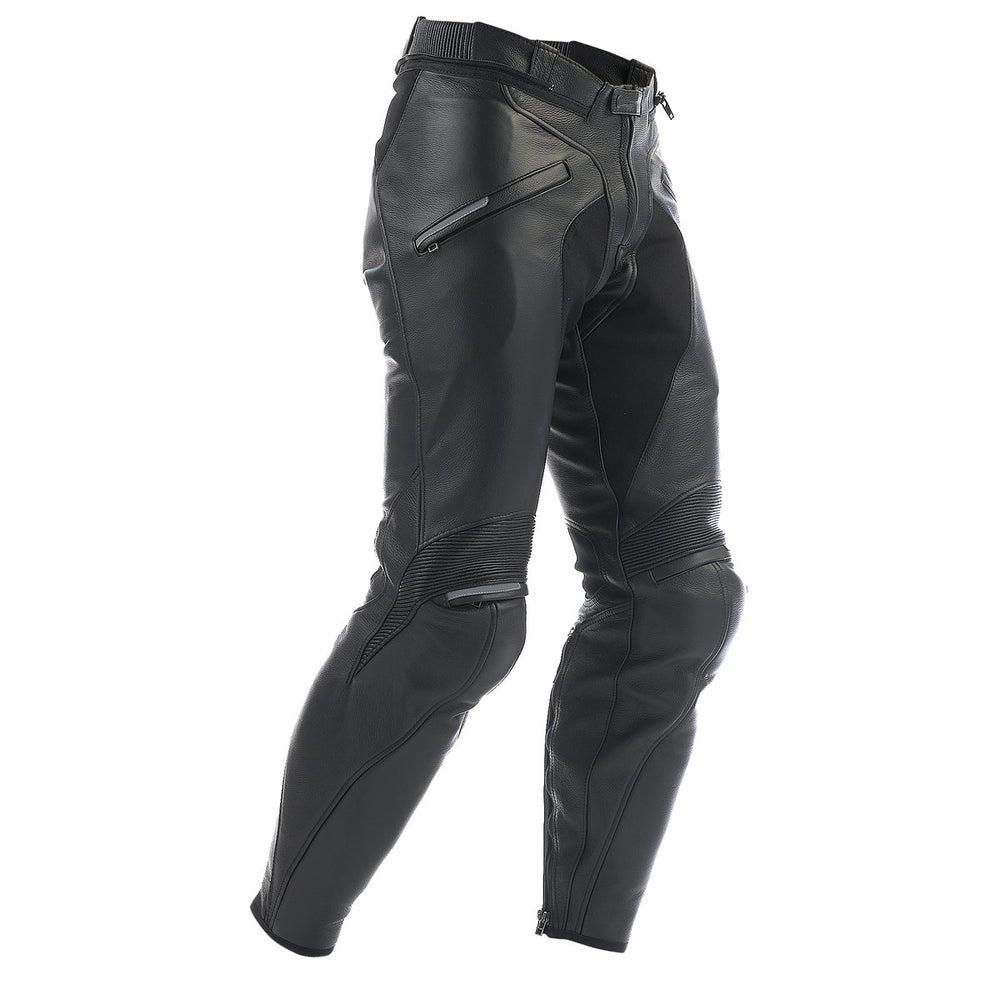 Dainese Alien Leather Trousers - Long - Black